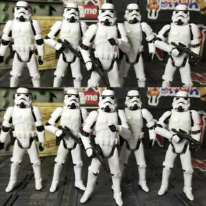"10Pcs/Lot Star Wars Stormtrooper OTC Trilogy 3.75"" Action Figure Toy Xmas Gifts"