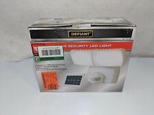 Defiant 270 Degree White LED Bluetooth Smart Control Motion Outdoor Flood Light