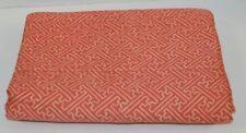 Ralph Lauren Villa Camelia Paprika Red Fretwork Full Flat Sheet New