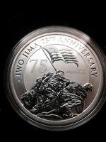 2020 1 oz .9999 Fine Silver Australia Iwo Jima 75th Anniversary Historic Coin