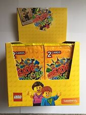300 Cards BOX 150 Packets Of 2 Lego Create The World Trading Gift Idea Kids