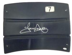 Tony Dorsett Autographed/Signed Dallas Cowboys Stadium Seatback JSA 14501