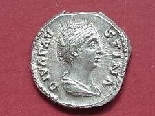 FAUSTINA Senior, died A.D.141, Denarius. Rev-Ceres standing right..  EF