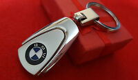 BMW Beemer Series, X1, X3, X5, Z4 Car Logo Metal Keyring with Gift Pouch (S2)