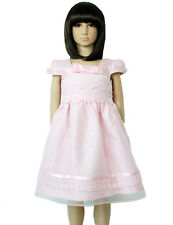 Vestido Niña de Fiesta Rosa Marfil 12 18 Meses 2 3 4 Años