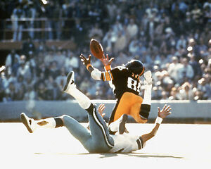 Lynn Swann - Steelers, Catch Super Bowl X, 8x10 photo