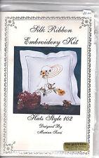 Silk  Ribbon  Embroidery  Kit  Hats Style 102  by Jupiter   Kit