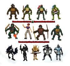 """Lot of 5 Random Select TMNT Teenage Mutant Ninja Turtles 2"""" Mini Figure Set"""
