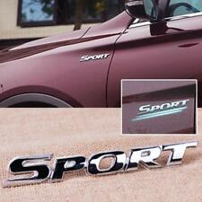 Metal 3D Sport Word Letter Logo Emblem Badge Sticker Auto Car Motor Logo Decal