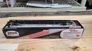 Atlas HO Scale RTR USA Waste 85' Trash Container Flat Car