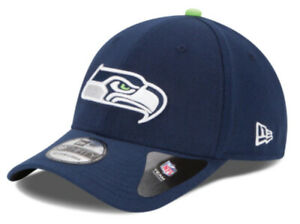 SEATTLE SEAHAWKS NEW ERA HAT 39THIRTY FITTED NFL PLAYOFFS FOOTBALL CAP