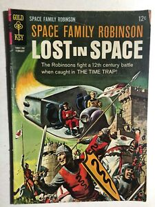 SPACE FAMILY ROBINSON, LOST IN SPACE #20 (1967) Gold Key Comics VG+