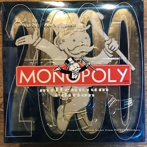 Monopoly millennium 2000 Parker 8 to adult board game 2-8 players Cat Rescue