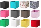 IKEA DRONA FABRIC STORAGE BOX KALLAX EXPEDITE SHELVING TOYS BOOKS CLOTHES