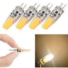 4x Mini G4 Led 1.2W Ampoule LED COB Corn Light AC DC 12V Blanc chaud 3000K