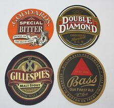 Coasters Lot Of 4 Assorted Beer Brewmania Oval Goddard's, Bass Collectable
