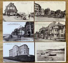 More details for vintage postcards, wissant, pas de calais, 6 early views, france