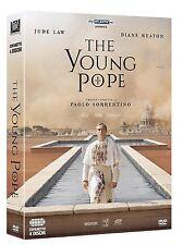 THE YOUNG POPE (4 DVD) DI PAOLO SORRENTINO - COFANETTO ITALIANO, NUOVO,ORIGINALE