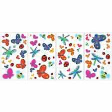 ROOM MATES JELLY BUGS KIDS ROOM WALL STICKERS 38 PIECES NEW