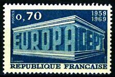 France 1969 Yvert n° 1599 neuf ** 1er choix