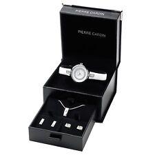 Pierre Cardin Uhr PCX0510L05 Geschenk Set Schmuck Damen Armbanduhr Watch UVP 119