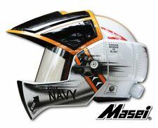 Navy Masei 911 Macross Robotech Cosplay Motorcycle Harley Bike Open Face Helmet