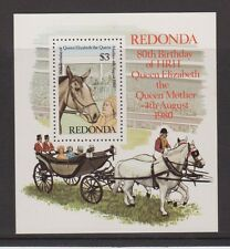 REDONDA MNH STAMP MINIATURE SHEET 1980 QUEEN MOTHER 80TH BIRTHDAY