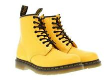 DR. MARTENS 1460 YELLOW SMOOTH LEATHER BOOTS 24614700 SZ. MEN'S 4/WOMEN'S 5