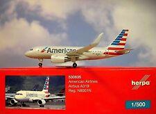 Herpa Wings 1:500 Airbus A319  American Airlines N8001N  530835 Modellairport500