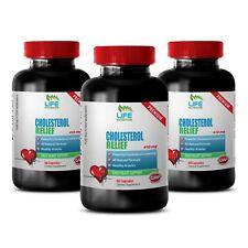 Regulates Cholesterol Metabolism - Cholesterol Complex 460mg - Garlic 1000 3B
