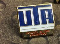 UTA University of Texas Arlington pin with errors