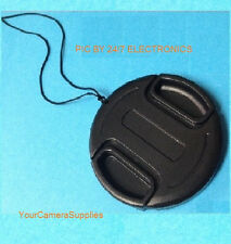 SNAP-ON LENS CAP 43mm To CAMCORDER SAMSUNG 16-50mm power zoom EF OIS NX500 &MORE