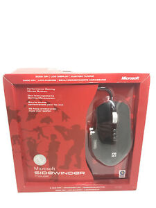 Microsoft SideWinder HKA-00001 Laser Mouse (New!Factory sealed retail box)