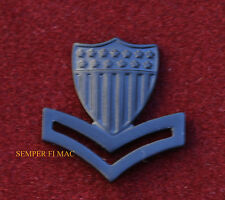 2ND CLASS PETTY OFFICER PO-2 E-5 HAT BLACK COLLAR PIN AUTHENTIC US COAST GUARD
