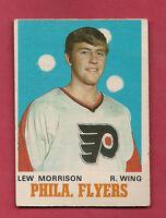 1970-71 OPC  # 197 FLYERS LEW MORRISON  ROOKIE  CARD