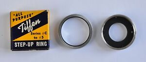 Tiffen Series #C to #5 Step-Up Ring with Screw In Cover/Filter Ring