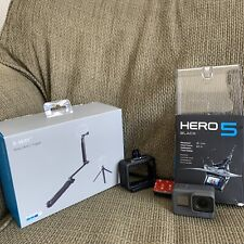 GoPro Hero 5 Black Edition Action Camera Bundle w/ 64Gb Sd, Grip, Tripod, & Case