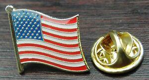 USA Flag Pin Badge Stars and Stripes Brooch America American