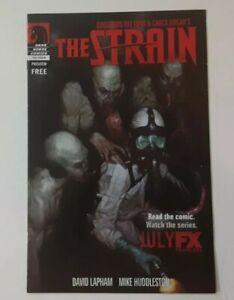 THE STRAIN Dark Horse Mini Comic Preview Guillermo Del Toro