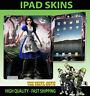 Apple iPad 2 , 3 ,3g, 4g WIFI Adhesivo de Vinilo Alice Locura Returns