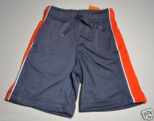 Gymboree boy gray orange active shorts size 5 NWT bottoms