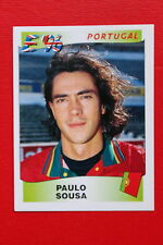 Panini EURO 96 N. 306 PORTUGAL PAULO SOUSA New With BLACK back TOPMINT!!