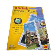 KODAK Brochure Paper Media 2-sided Printing Glossy Professional Quality 40sheets