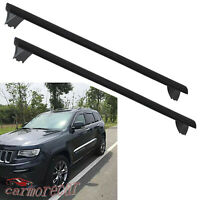 Roof Rack Cross Bars Luggage Carrier W/ Side Rails For Jeep Grand Cherokee 11-19