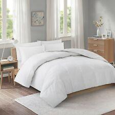 Puredown Lightweight White Goose Down Fiber Comforter with 100% Cotton Shell