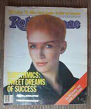 Eurythmics Annie Lennox Rolling Stone Newspaper magazine # 405 Sept 29, 1983