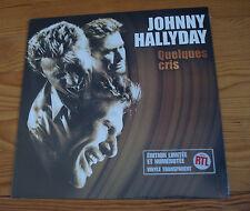 Johnny Hallyday - Quelques cris - Vinyle Maxi 45T - Neuf