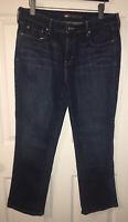 Levi Strauss 505 Straight Leg Cotton Stretch Jeans Womens Sz 12 Meas 33x28 EUC