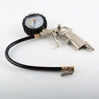 HD Air Tire Inflator With Dial Gauge Auto Truck Bike Compressor Pistol Type