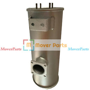 Muffler Silencer for Yanmar 4TNV98 Engine Takeuchi TL130 Excavator 420*175mm